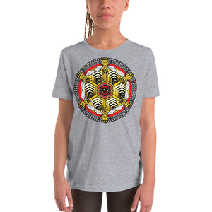 BEEZ are Sacred Mandala - Youth Short Sleeve T-Shirt