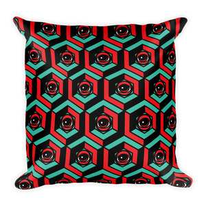 EYEZ Cubed Square Pillow