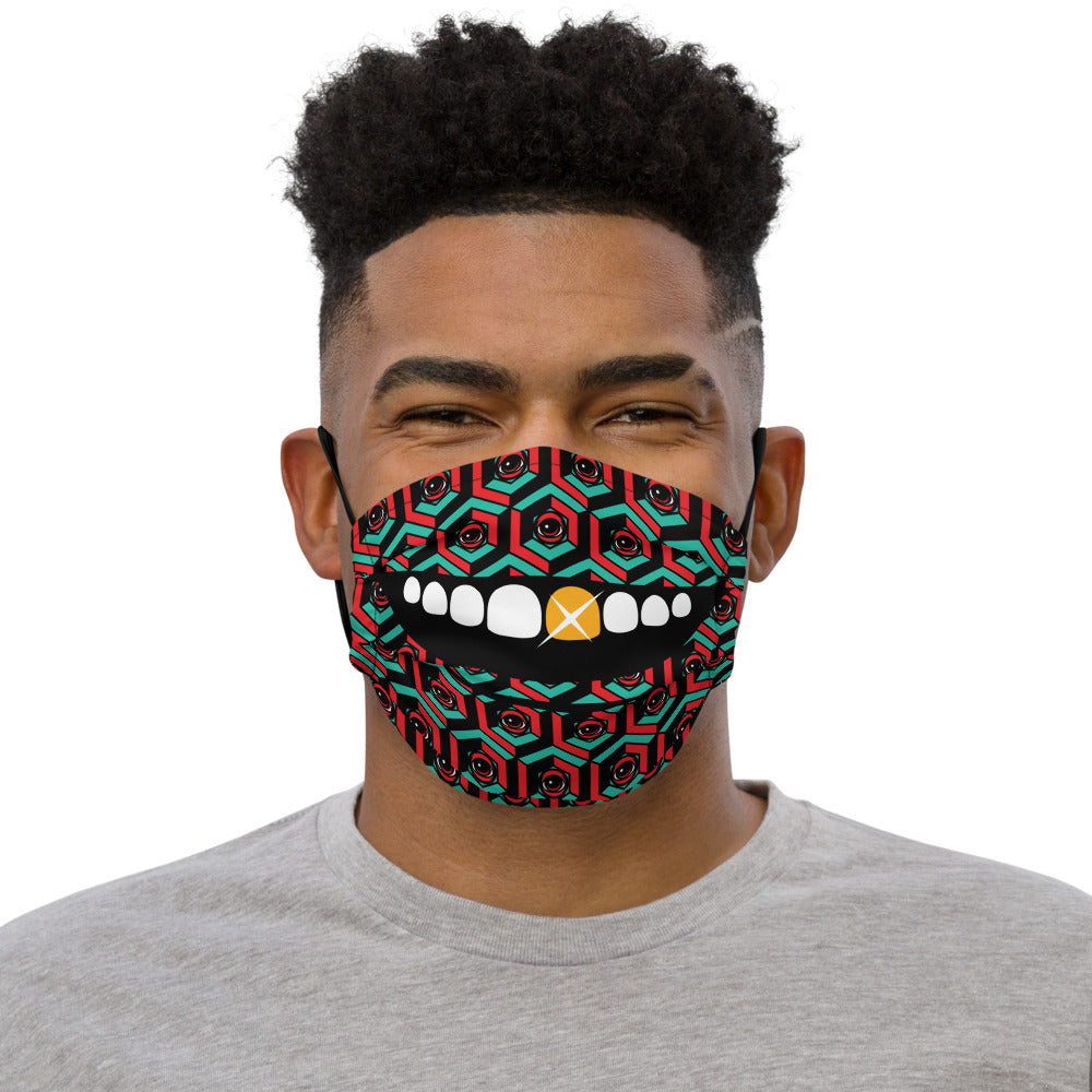 EYEZ CUBE SMILE BLING Face mask