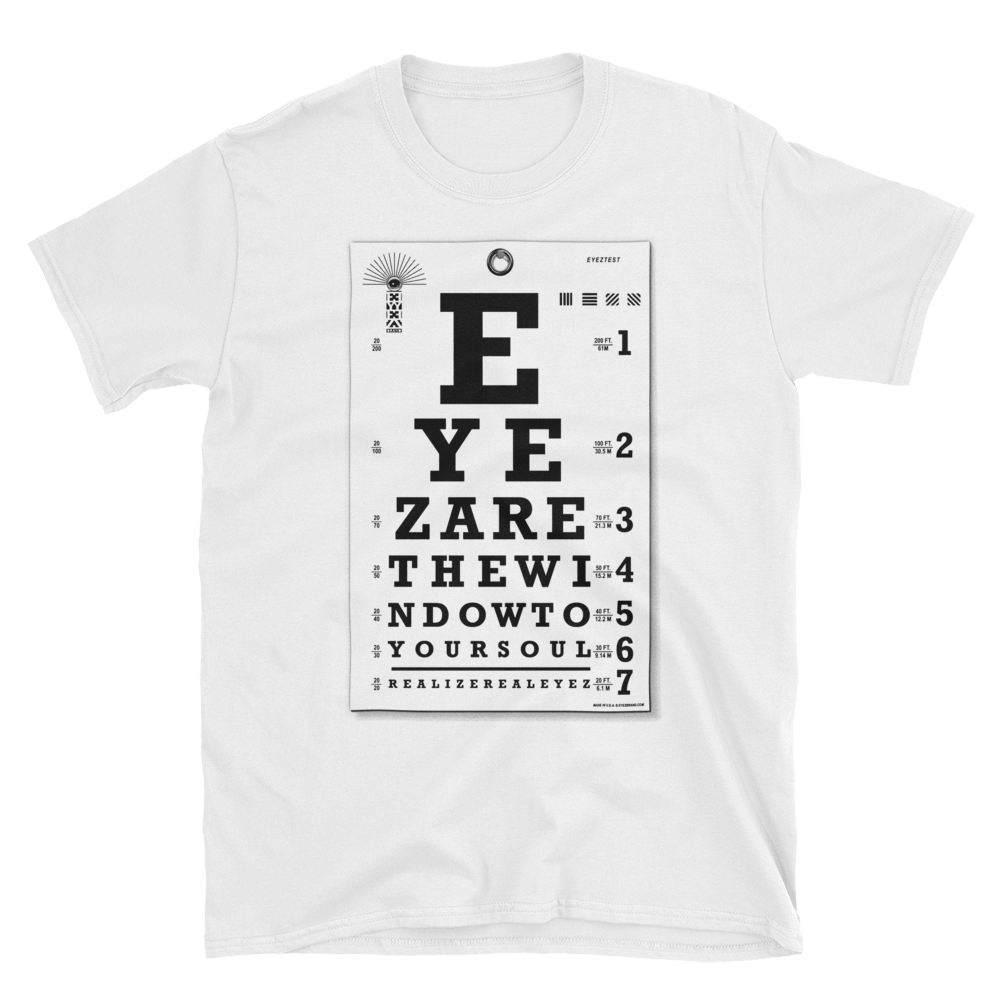 EYEZ Test - Short-Sleeve Unisex T-Shirt