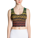 EYEZ All Over - Sublimation Cut & Sew Crop Top
