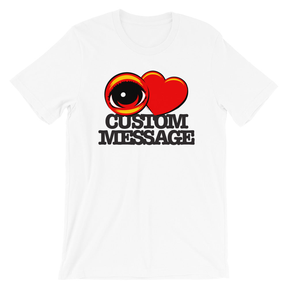 EYE HEART   Short-Sleeve Unisex T-Shirt