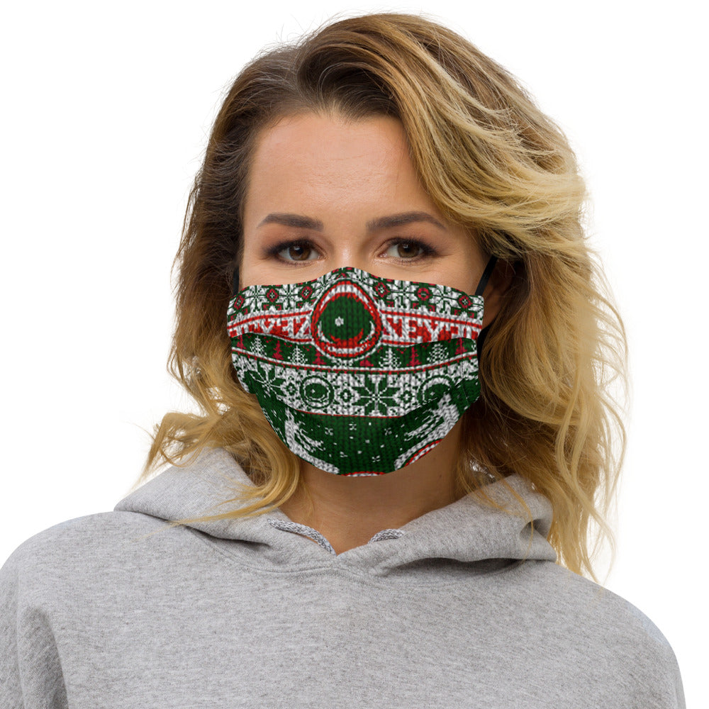 HOLIDAY EYEZ - Premium face mask