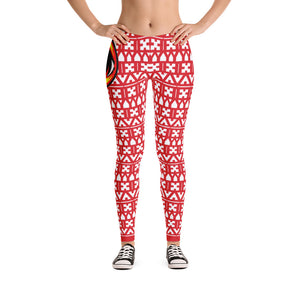 EYEZ Pattern Illusion Leggings (EYE on HIP)