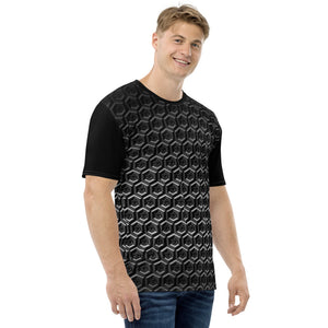 EYEZ Cubed Grey/Black Men's T-shirt