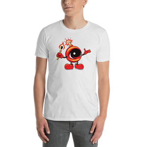 Adult EYEZ BOMBER Short-Sleeve Unisex T-Shirt