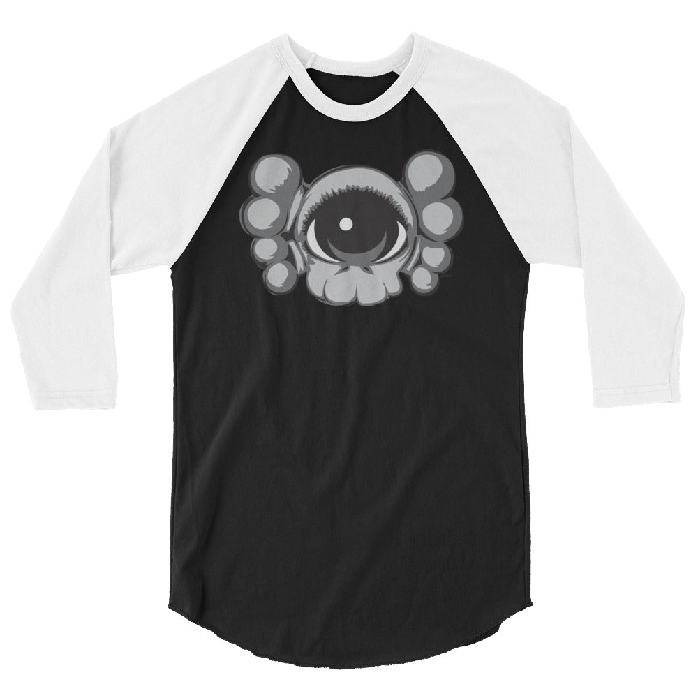 EYEZ KAWZ tribute - 3/4 sleeve raglan shirt
