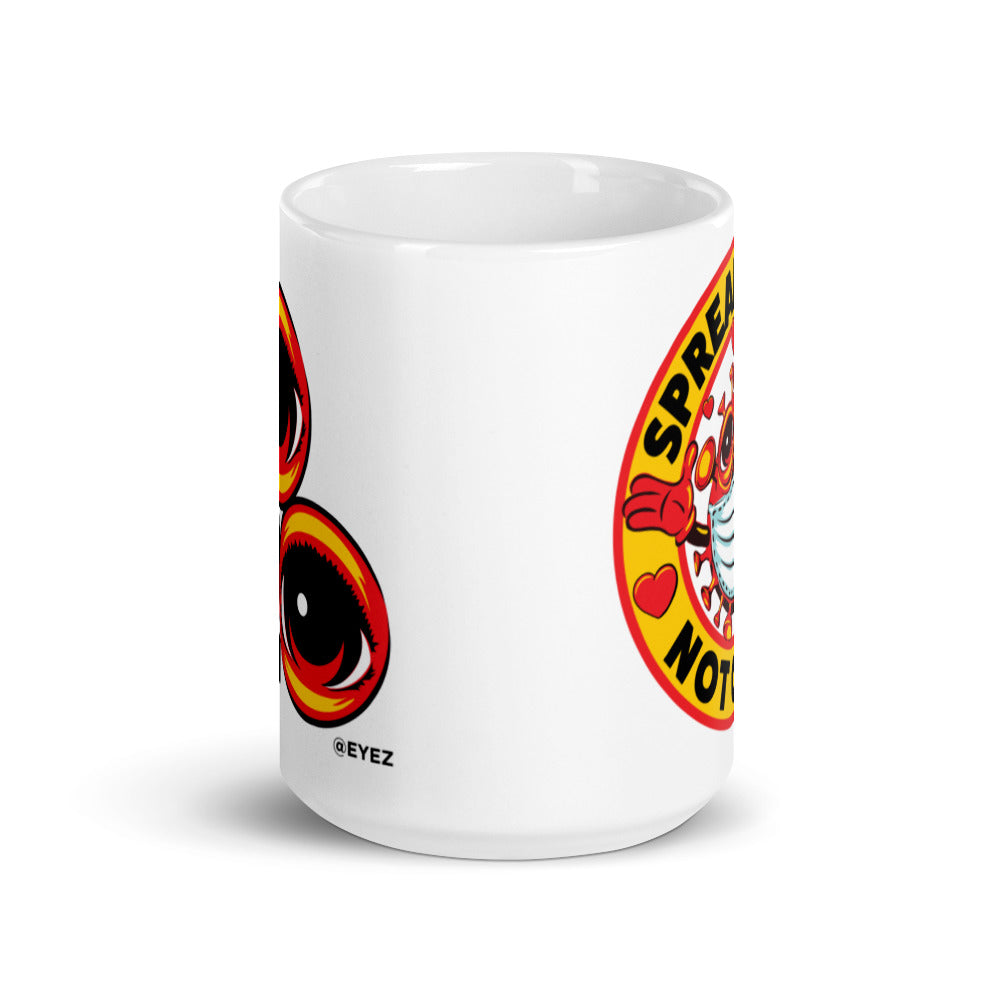 2020 EYEZ Limited Edition Spread Love Not Germs Mug