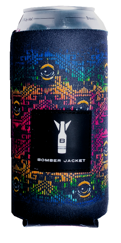 Woven EYEZ 16 oz Drink Coozie - Bomber Jacket