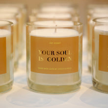 "Laden Sie das Bild in den Galerie-Viewer, ""YOUR SOUL IS GOLDEN"" CANDLE"