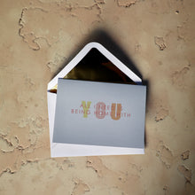 Lade das Bild in den Galerie-Viewer, ALL I NEED IS BEING HOME WITH YOU CARD