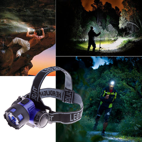 2000 Lumens Waterproof Headlamp