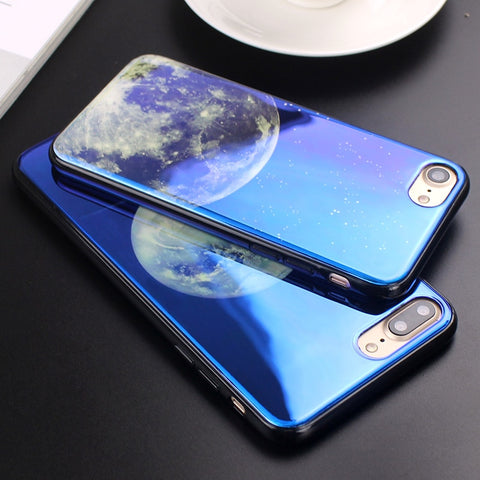 Electroplate Moon Case