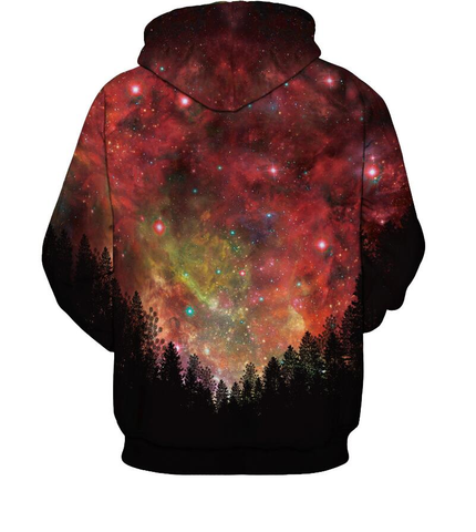 AUTUMN STARS 3D SWEATER