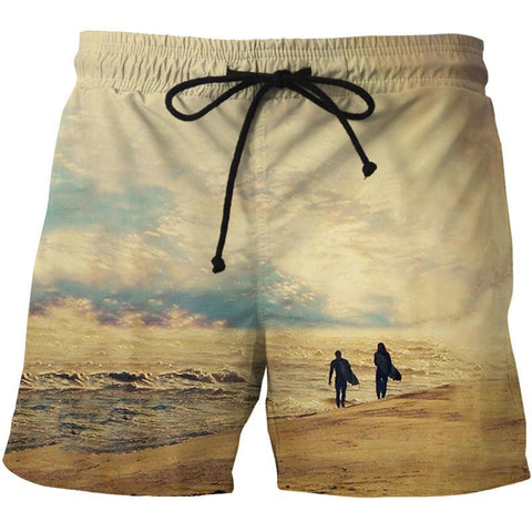 BEACH BOARD SHORTS