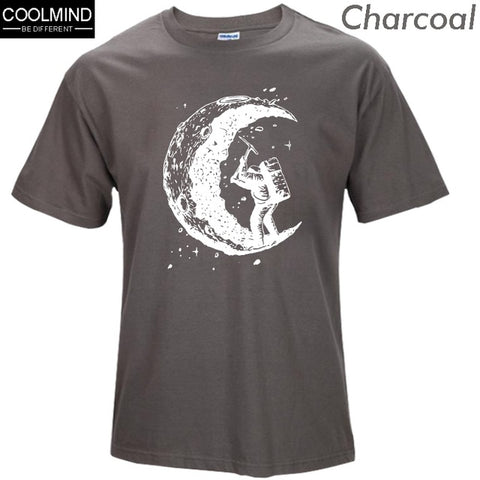 Digging The Moon T-Shirt