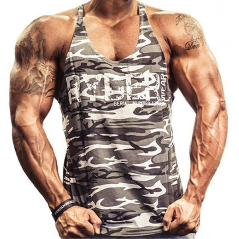 Corporal Camo Fitness Tank Top