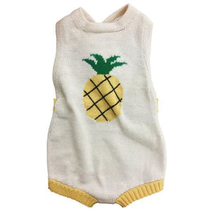 e3df4edde3c ORGANIC BABY ROMPERS WITH PINEAPPLE – Bundlebb
