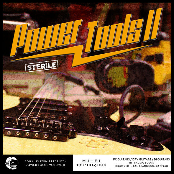 Power Tools II - Hard Rock Guitars