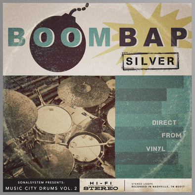 Music City Drums Vol. 2 - Boom Bap