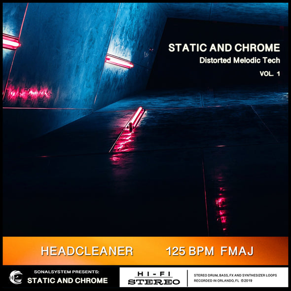 Static and Chrome - Distorted Melodic Tech vol. 01
