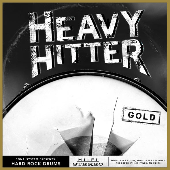 Heavy Hitter Hard Rock Drums