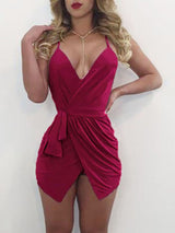 Alluring Crisscross Strappy Romper Dress - DadHats2ow6ix