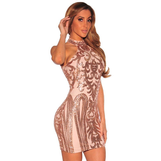 Women Sexy Dresses Party Night Club Sparkling - DadHats2ow6ix