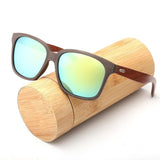 2017 Polarized Bamboo Sunglasses Men Wooden Sun glasses Women Brand Designer Wood Glasses Oculos de sol masculino for driving - DadHats2ow6ix
