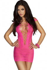 Babydoll Crocheted Lace Hollow out Nightwear - DadHats2ow6ix