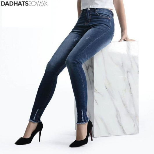 Alice & Elmer Stretch Skinny Jeans high waist Female Pants - DadHats2ow6ix