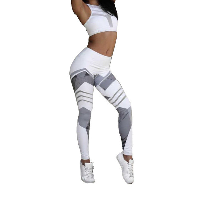 Work Out Elastic Leggings - DadHats2ow6ix
