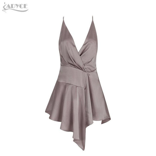 Sexy New Autumn Dress Women Sleeveless V-neck Backless - DadHats2ow6ix