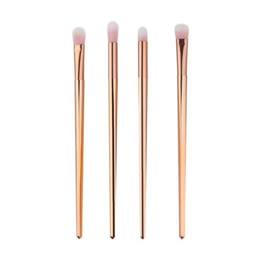 4Pcs/Set Makeup Brushes Eye Shadow Make Up Brushes Kit Maquiagem Cosmetics Synthetic Fiber Lip Eyeliner Eyeshadow Brushes Makeup - DadHats2ow6ix