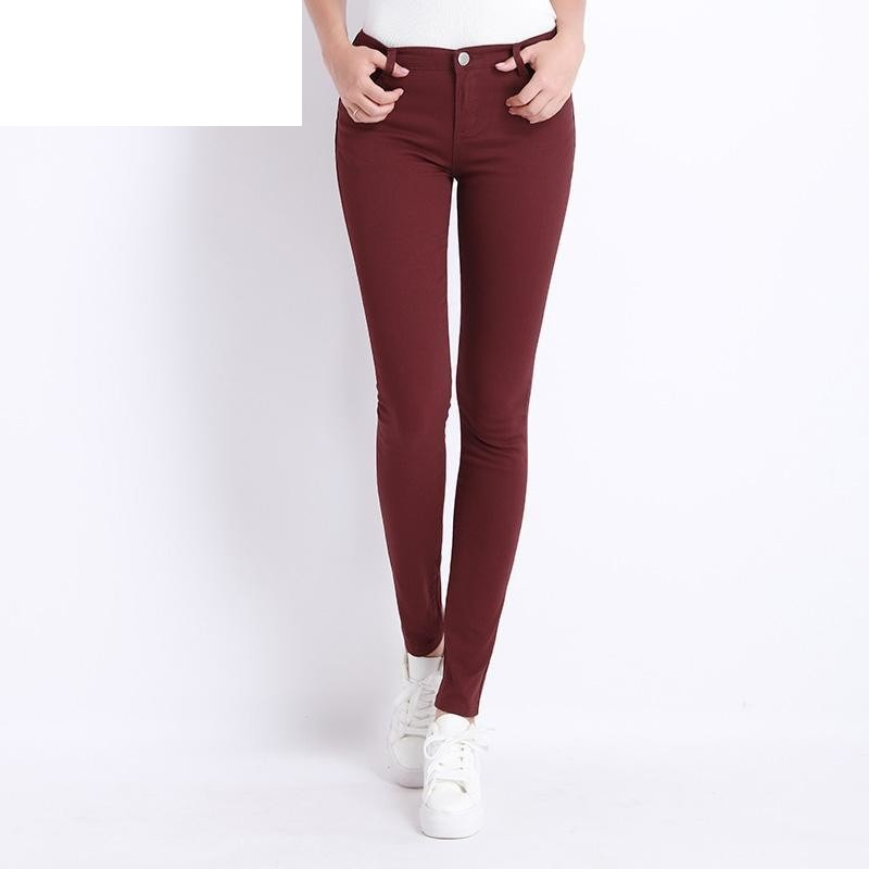 Donna Stretch Bottoms Feminino Skinny Pants For Women Trousers 2018 Tataria - DadHats2ow6ix