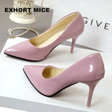 2018 New Fashion high heels women pumps thin heel classic white red nede beige sexy prom wedding shoes - DadHats2ow6ix