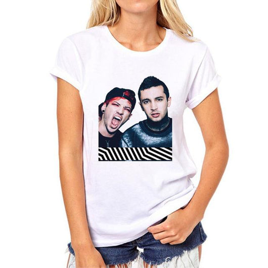 Rock Band Tshirt New 21 Pilots - DadHats2ow6ix