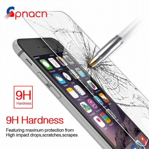 9H Tempered Glass For iPhone - DadHats2ow6ix