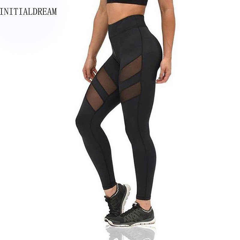 Camille Mesh Cut Out Leggings - DadHats2ow6ix