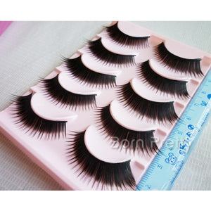5 Pairs Soft Thick False Eyelash Kit