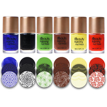 6 Bottles Professional Nail Polish Set