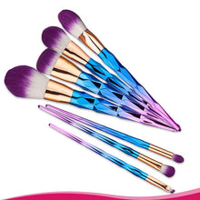 7Pcs Unicorn Makeup Brush Set