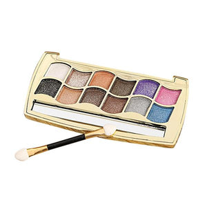 12 Colors Diamond Bright Glitter Eyeshadow Palette
