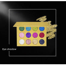 12 Colors Shimmer Glitter Eyeshadow Palette