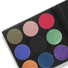 9 Colors Skull Glitter Eyeshadow Palette