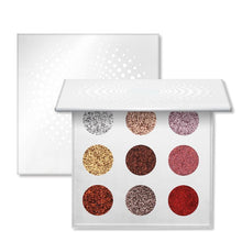 9 Colors Ultra Bright Glitter Eyeshadow Palette