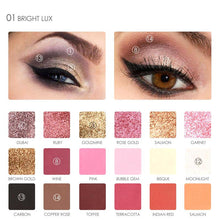 18 Colors Matte Diamond Glitter Eyeshadow Palette