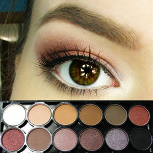 Glam 12 Color Pallette with Mirror