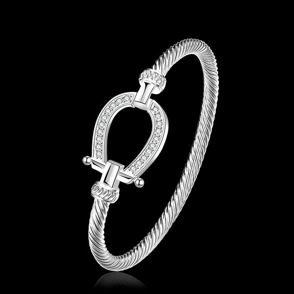 New Horseshoe Bracelets & Bangles Fashion Lady's Jewelry Bracelets For Women New Female Costume Jewellery - J.S Jewellers & Co