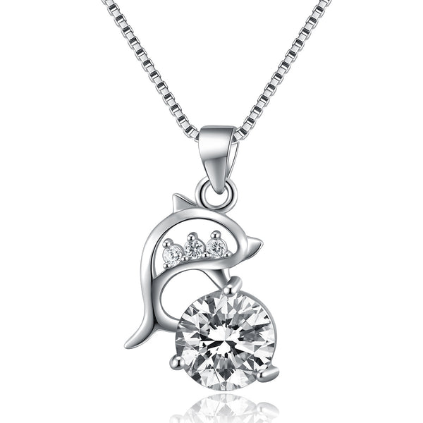 Beautiful 925 Sterling Silver Gorgeous Looking Necklace Pendant Costume Jewelry - J.S Jewellers & Co